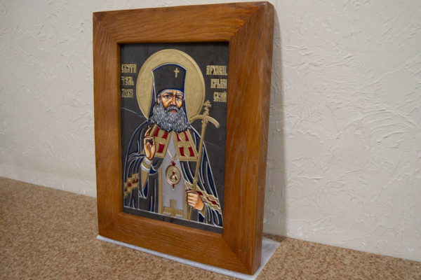 Икона Луки Крымского № 05 из мрамора, камня, каталог икон, фото 2