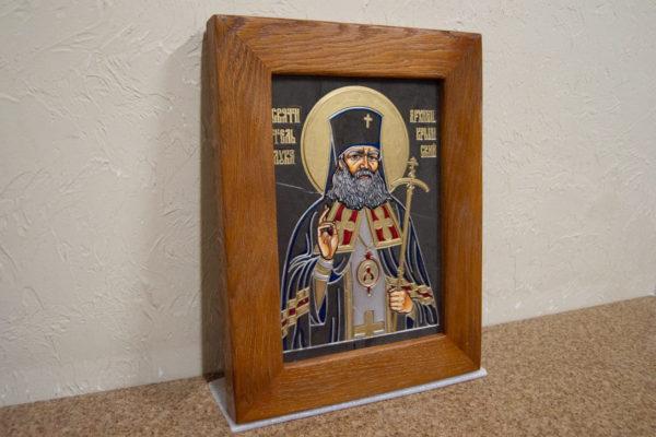 Икона Луки Крымского № 05 из мрамора, камня, каталог икон, фото 3