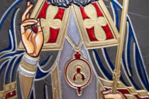Икона Луки Крымского № 05 из мрамора, камня, каталог икон, фото 4