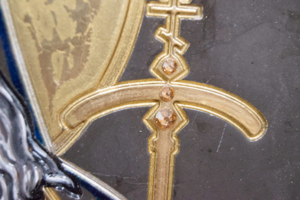 Икона Луки Крымского № 05 из мрамора, камня, каталог икон, фото 6