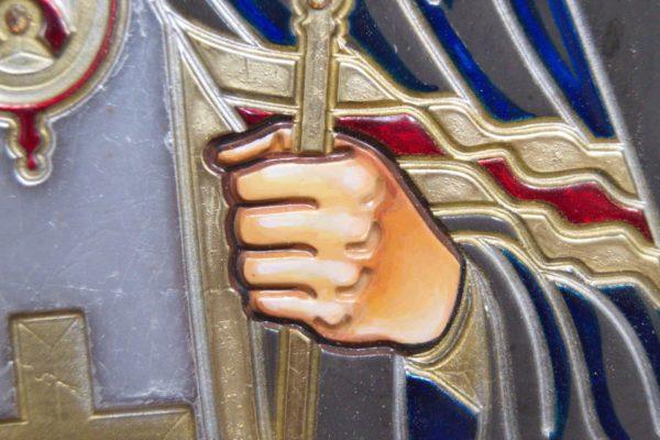 Икона Луки Крымского № 05 из мрамора, камня, каталог икон, фото 8