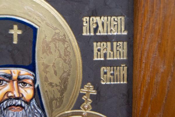 Икона Луки Крымского № 05 из мрамора, камня, каталог икон, фото 10