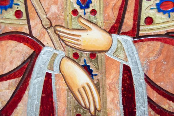 Икона Святой Елены № 02 из камня в Минске, каталог икон Гливи, изображение, фото 8