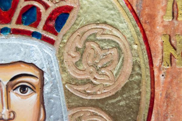 Икона Святой Елены № 02 из камня в Минске, каталог икон Гливи, изображение, фото 9