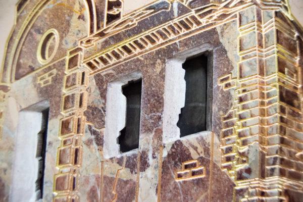 Каменная Картина Оммаж духовному дому отца Шагала № 04, изображение, фото 11