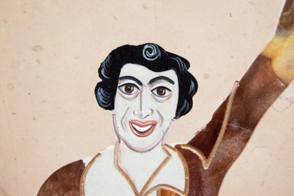 Каменная Картина Оммаж духовному дому отца Шагала № 04, изображение, фото 16