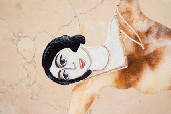 Каменная Картина Оммаж духовному дому отца Шагала № 04, изображение, фото 17