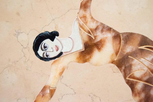 Каменная Картина Оммаж духовному дому отца Шагала № 04, изображение, фото 18