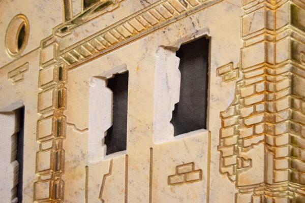 Каменная Картина Оммаж духовному дому отца Шагала № 05, изображение, фото 10