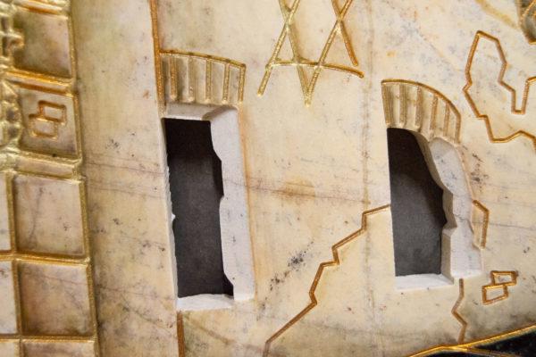 Каменная Картина Оммаж духовному дому отца Шагала № 05, изображение, фото 15