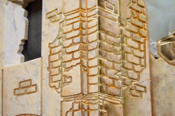 Каменная Картина Оммаж духовному дому отца Шагала № 05, изображение, фото 16