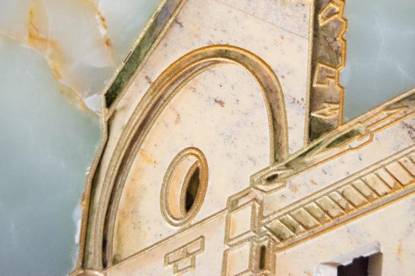 Каменная Картина Оммаж духовному дому отца Шагала № 05, изображение, фото 19