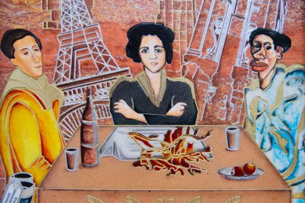 Каменная Картина Сутиниада № 01 (Сутин), изображение, фото 5