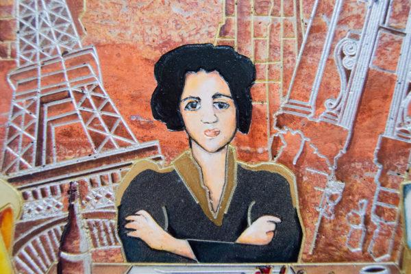 Каменная Картина Сутиниада № 01 (Сутин), изображение, фото 6