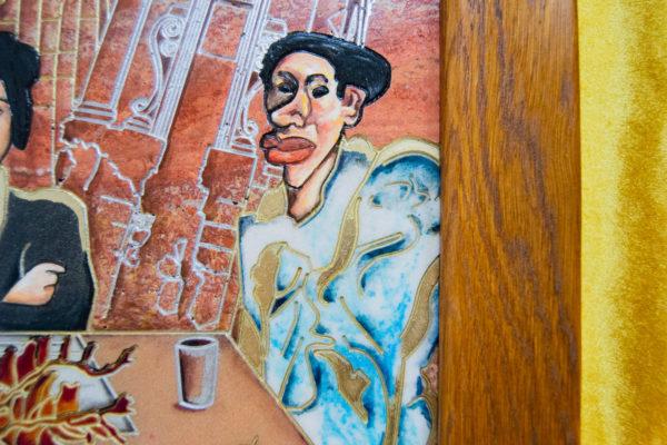 Каменная Картина Сутиниада № 01 (Сутин), изображение, фото 8