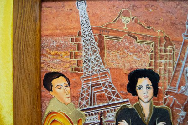 Каменная Картина Сутиниада № 01 (Сутин), изображение, фото 18