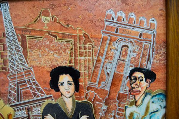 Каменная Картина Сутиниада № 01 (Сутин), изображение, фото 19