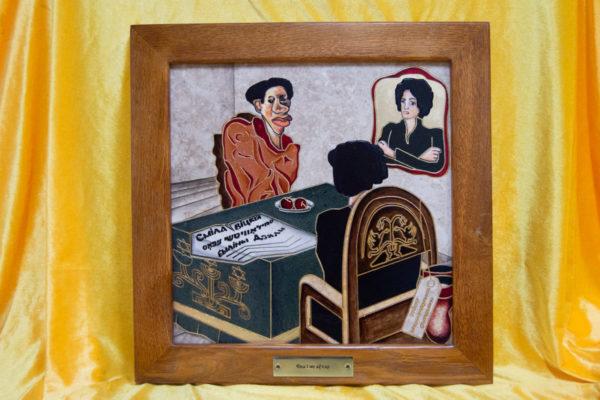 Каменная Картина Ева и ее автор № 03 (Сутин), изображение, фото 1