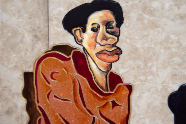 Каменная Картина Ева и ее автор № 03 (Сутин), изображение, фото 11