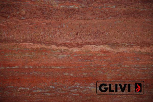 Натуральный камень, Травертин Rosso Persiano, фото 3