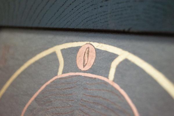 Икона Иисуса Христа - Спас Нерукотворный № 5-6 из мрамора, изображение, фото 9