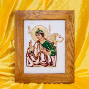 Икона Святого пророка Даниила № 01, именная икона для Данила, фото 1