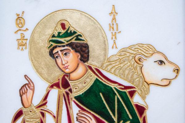 Икона Святого пророка Даниила № 01, именная икона для Данила, фото 6