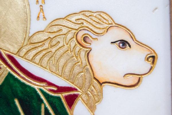 Икона Святого пророка Даниила № 01, именная икона для Данила, фото 8