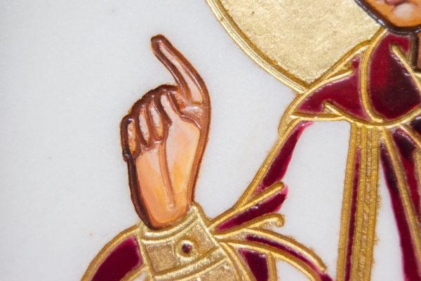 Икона Святого пророка Даниила № 01, именная икона для Данила, фото 10