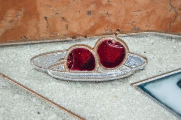 Каменная Картина Автопортрет в зеркале № 06 (Сутин), изображение, фото 9