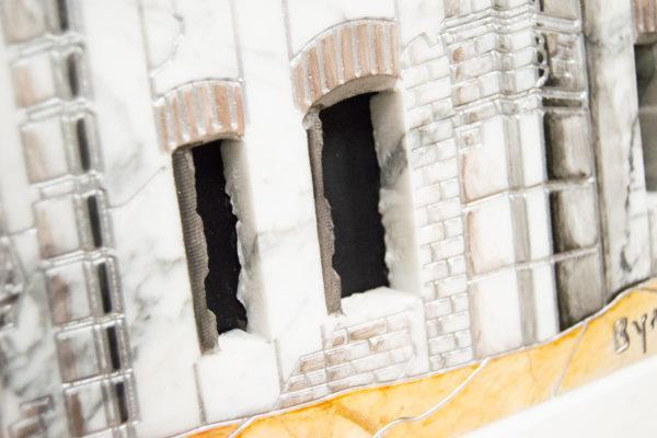 Каменная Картина Оммаж духовному дому отца Шагала № 06, изображение, фото 10