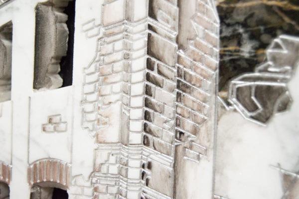 Каменная Картина Оммаж духовному дому отца Шагала № 06, изображение, фото 11