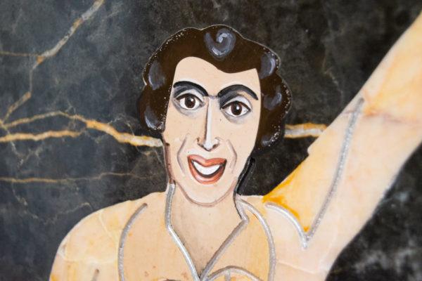 Каменная Картина Оммаж духовному дому отца Шагала № 06, изображение, фото 13