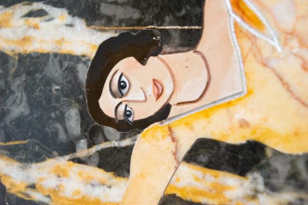 Каменная Картина Оммаж духовному дому отца Шагала № 06, изображение, фото 14
