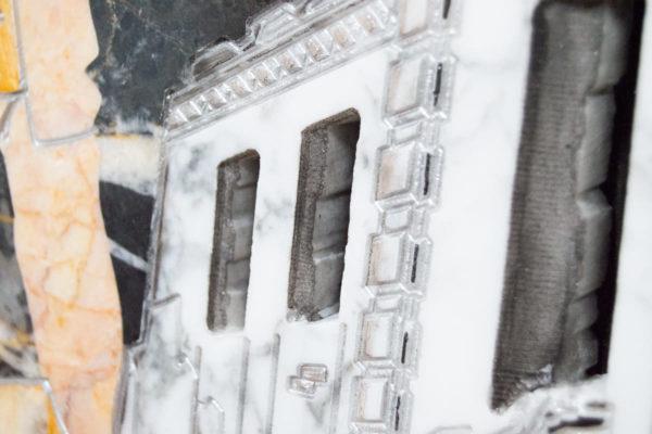 Каменная Картина Оммаж духовному дому отца Шагала № 06, изображение, фото 15