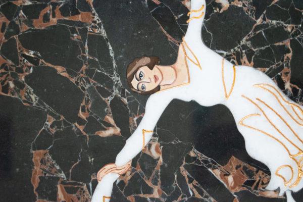 Каменная Картина Оммаж духовному дому отца Шагала № 07, изображение, фото 6