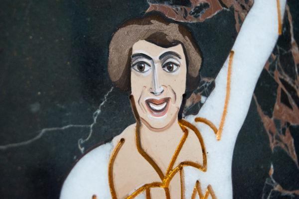Каменная Картина Оммаж духовному дому отца Шагала № 07, изображение, фото 10