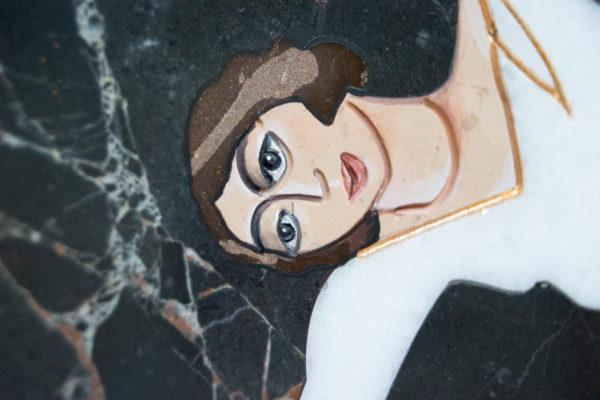 Каменная Картина Оммаж духовному дому отца Шагала № 07, изображение, фото 11