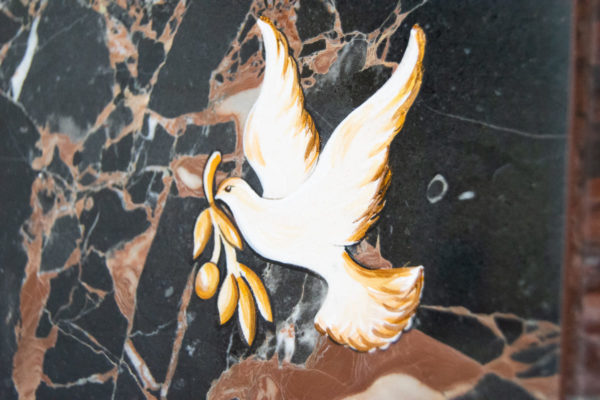 Каменная Картина Оммаж духовному дому отца Шагала № 07, изображение, фото 16