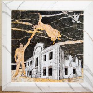 Каменная Картина Оммаж духовному дому отца Шагала № 06, изображение, фото 17
