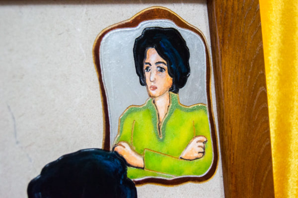 Каменная Картина Ева и ее автор № 04 (Сутин), изображение, фото 12
