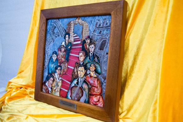 Каменная Картина Дорога в вечность № 02 (Сутин), изображение, фото 2