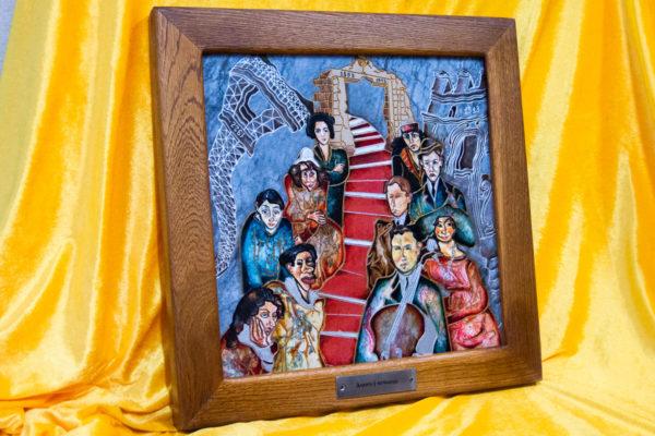 Каменная Картина Дорога в вечность № 02 (Сутин), изображение, фото 3