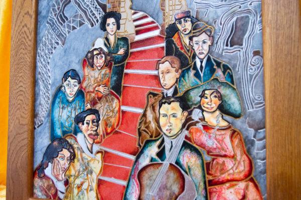 Каменная Картина Дорога в вечность № 02 (Сутин), изображение, фото 5