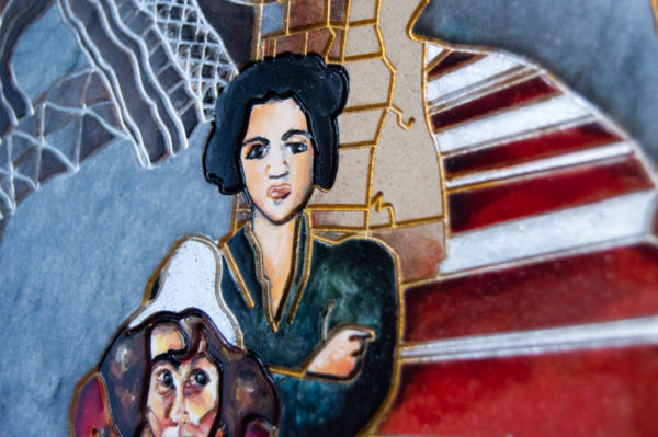 Каменная Картина Дорога в вечность № 02 (Сутин), изображение, фото 6