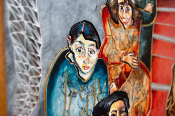 Каменная Картина Дорога в вечность № 02 (Сутин), изображение, фото 8