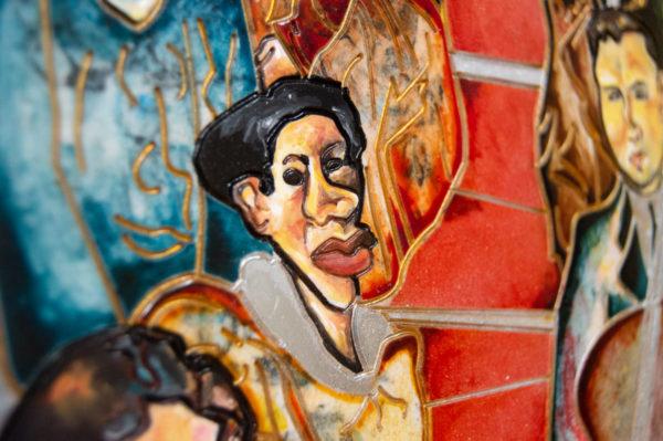 Каменная Картина Дорога в вечность № 02 (Сутин), изображение, фото 9