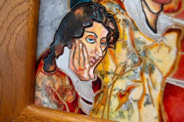 Каменная Картина Дорога в вечность № 02 (Сутин), изображение, фото 10