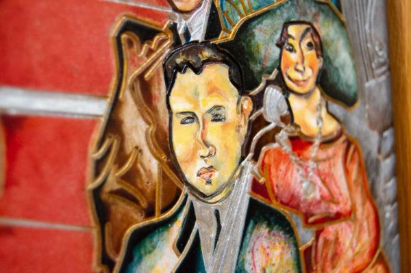 Каменная Картина Дорога в вечность № 02 (Сутин), изображение, фото 11