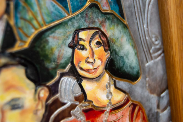 Каменная Картина Дорога в вечность № 02 (Сутин), изображение, фото 12